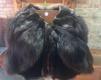 Vintage 1910 Native American Fox Fur Stole