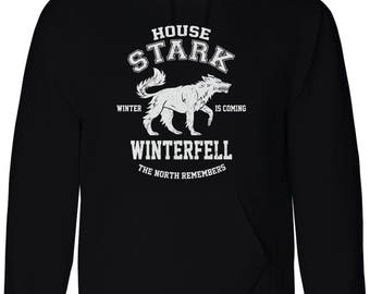 Join the Game to get Thrones Inspired House Stark North Remembers Hoodie Sweatshirt