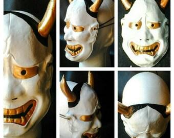 Leather Hannya mask