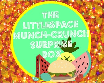 The LittleSpace Munch-Crunch Surprise Box