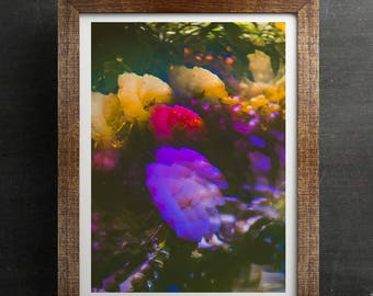 Psychedelic Art Print | FROTHIN FLOWERS