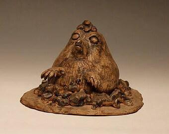 Mole butterdish