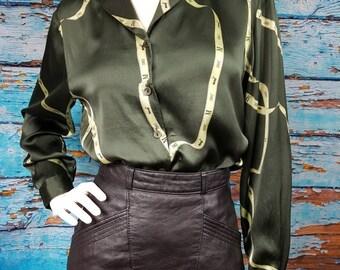 90s silk mondi blouse.
