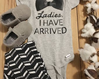 I Have Arrived Onesie, Coming Home, Baby Arrival, Funny Baby Onesie, Baby Boy Onesie, Boy Onesie, Onesie