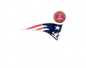 New England Patriots  7 Sizes Sport Team Embroidery Design instatnt download machine embroidery pattern