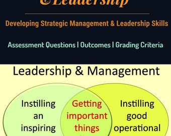 strategic management and leaderships skills The management and leadership major at ku:  the focus is on learning the  interpersonal, systems, and strategic skills necessary to build and manage an.