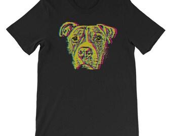The Pitbull T-Shirt-Dog Lover -Pitbull Advocate