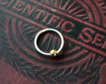 Outer Labia Hoop / Libia Majora Piercing Hoop / Intimate Body Jewellery / Sterling Silver Hoop / Body Jewellery