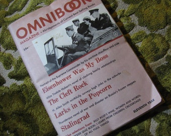 Vintage Omnibook Magazine January 1949 Issue - Best Selling Book Abridgements Eisenhower Was My Boss, Stalingrad, The Cleft Rock, and More!