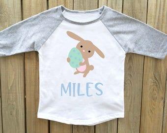 boys easter shirt, easter bunny shirt, toddler easter shirt, boy easter shirt, easter outfit, baby boy easter, easter shirt boys, easter boy