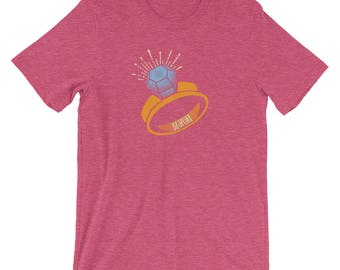 Engaged Bespoke All Cotton Short-Sleeve Unisex T-Shirt