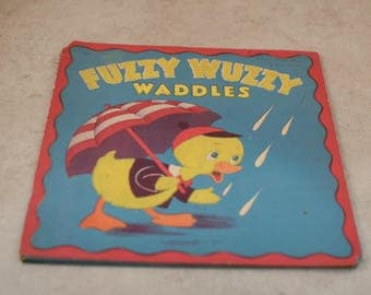 Fuzzy Wuzzy Waddles Children's Booklet
