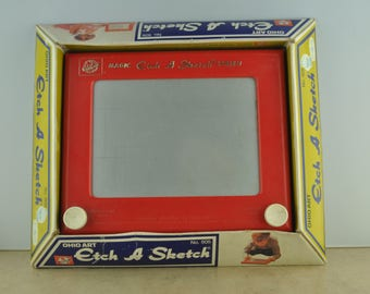 Vintage Etch A Sketch No. 505 in Original Box