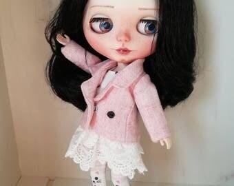 OOAK Blythe Doll ~ Rosalie ~, Factory Blythe Doll, custom Blythe Doll,
