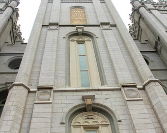 Salt Lake Temple Picture - Holiness to the Lord