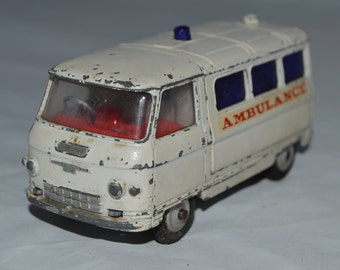 Vintage Corgi Toys Ambulance  commer van  1960s
