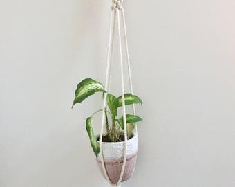 Crown Macrame Plant Holder