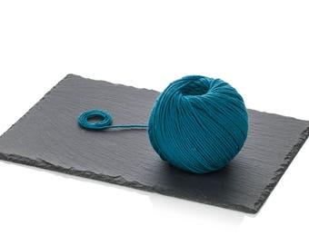Merino Wool Yarn DK - Teal Pure Wool Yarn - Superwash Merino Yarn - Light Worsted Yarn - Blue Winter Wool Yarn DK - Crochet Wool Turquoise