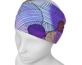 Yarnie Headband - Knitter Headband Accessory, Gift for Knitter, Yarnie Gift, Knitters gift, Crafter Gift, Gift Exchange