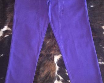 Purple Rocky Mountain Jeans