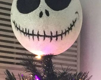 Jack Skellington Nightmare Before Christmas Tree Topper