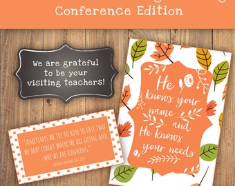 2017 LDS Visiting Teaching Message General Conference Digital Printable VT November