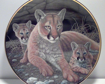 "Vintage Limited Edition ""MOUNTAIN LIONS"""