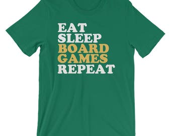 Eat Sleep Boardgames Repeat T-Shirt - Boardgame Lover Gift - Boardgame lover T Shirt - Boardgame lover TShirt