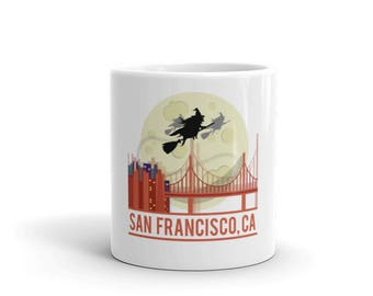 San Francisco City Mug made in the USA