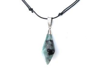 Stone Necklace, Stone Necklace Pendant, Stone Pendant, Natural Stone Necklace, Natural Stone Pendant, Stone Jewelry, Raw Stone Necklace