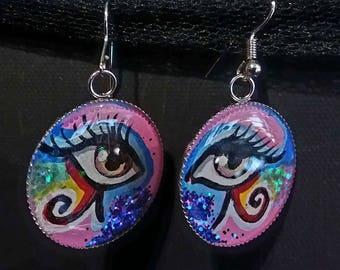 Eye am earrings/earrings