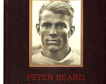 peter beard fifty years of portraits -  signed and inscribed by Beard - hardcover book - 1st edition arena editions 1999 anthony haden guest