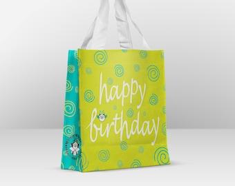 Reusable Happy Birthday Bag