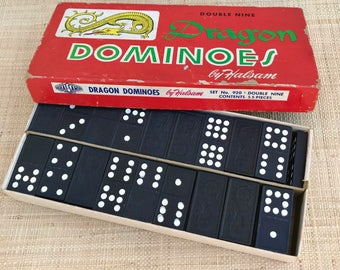 Dragon Double Nine Dominoes by Halsam