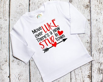 Toddler Boys Valentine Shirt - Valentine Shirt Boy - Funny Valentine's Shirt - Boys Valentine's Day Shirts - Vinyl Shirts - Long Sleeve