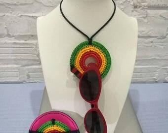 Rastafarian Eyewear Pendant