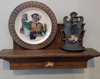 Vintage very rare Falstaff beer display