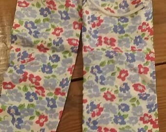 Up cycled girl baby trousers