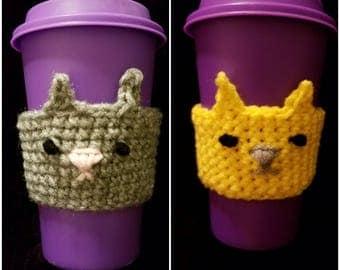 Kitty Coffee Cozy
