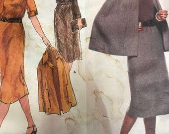 VINTAGE Vogue Paris Original Sewing Pattern 1733/Molyneux/FF/UNCUT/Size 14