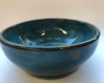 Tourmaline Shallow Bowl