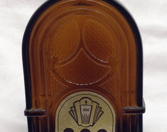 Vintage AVON 1972 Remember When Radio decanter Wild Country After Shave