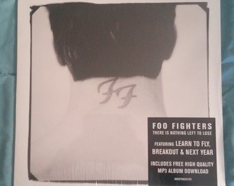 Foo Fighters (VINYL) - There Is Nothing Left To Lose LP (SEALED reissue, 2x album)