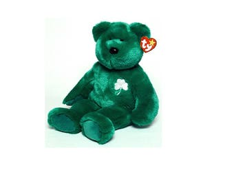 Ty Beanie Buddies Large Erin Bear 1998
