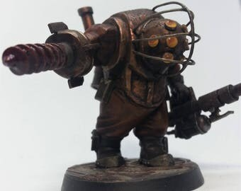 Bioshock-inspired Warhammer 40,000 Ogryn