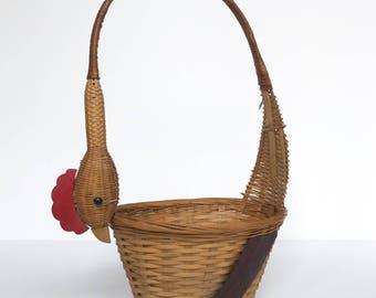 Woven Chicken Basket