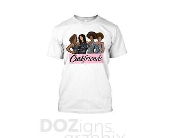 Curlfriends T Shirt For Women