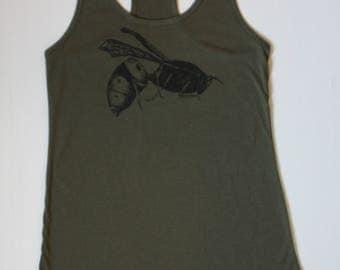 Wasp racerback tanktop