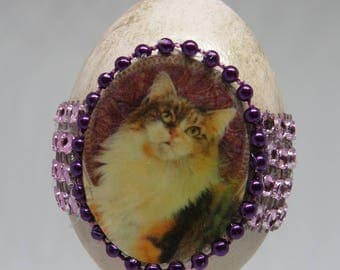 Real egg ornament
