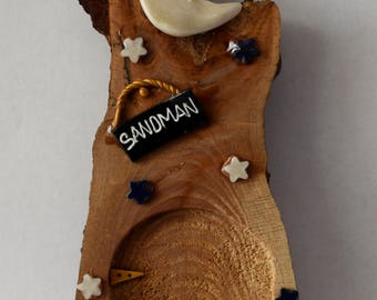 Magical Mythical Sandman Fairy Door - Hand Crafted by Mary-Beth Originals
